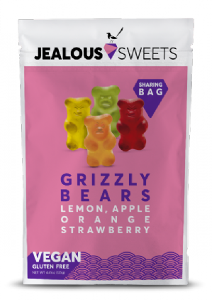 Jealous Sweets Vegan Grizzly Bears